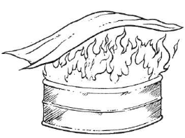 Abafamento - Método de Combate ao Incêndio