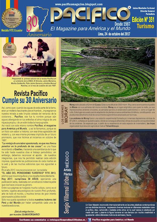 Revista Pacífico Nº 351 Turismo