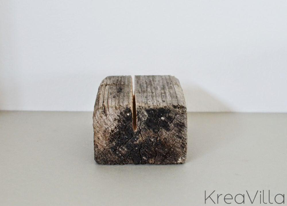 DIY wooden cardholder | KreaVilla