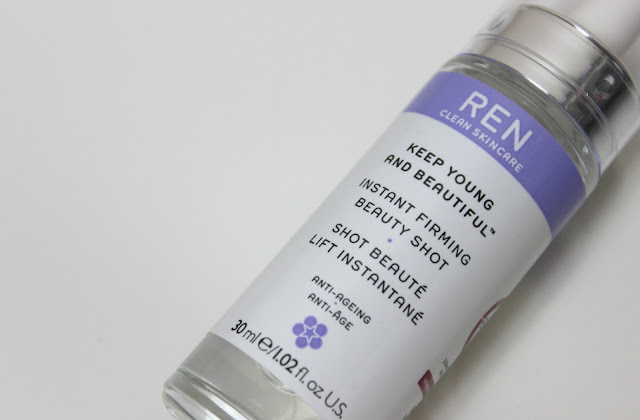 A picture of REN Keep Young and Beautiful Instant Firming Beauty Shot