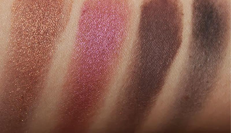MAC Purple Eyeshadows