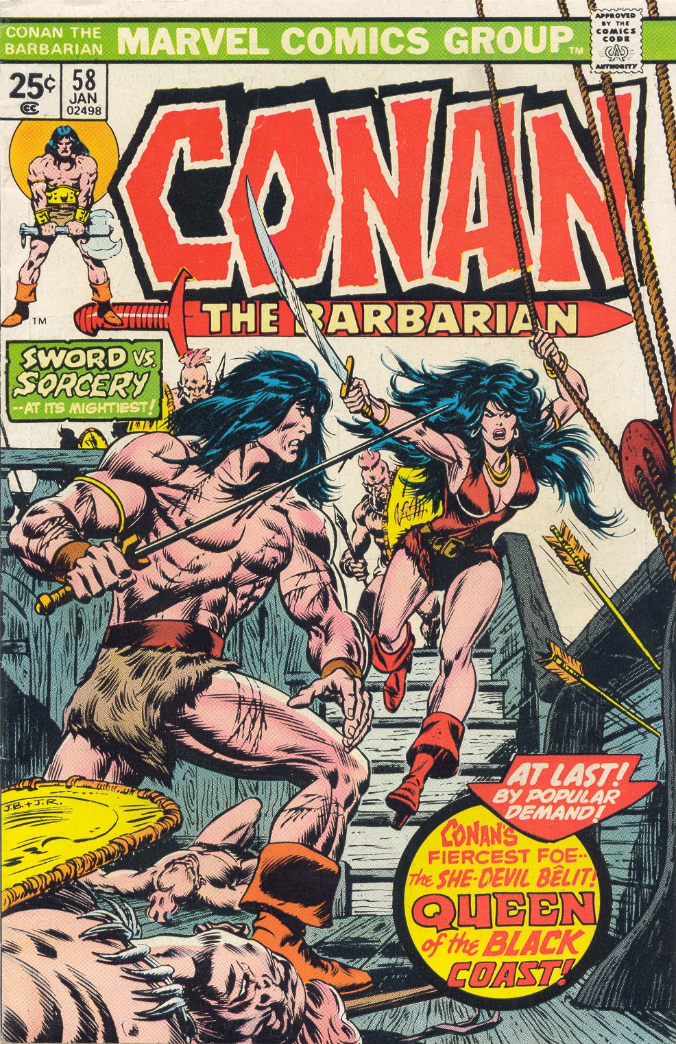 Conan the Barbarian (1970) 58 Page 1