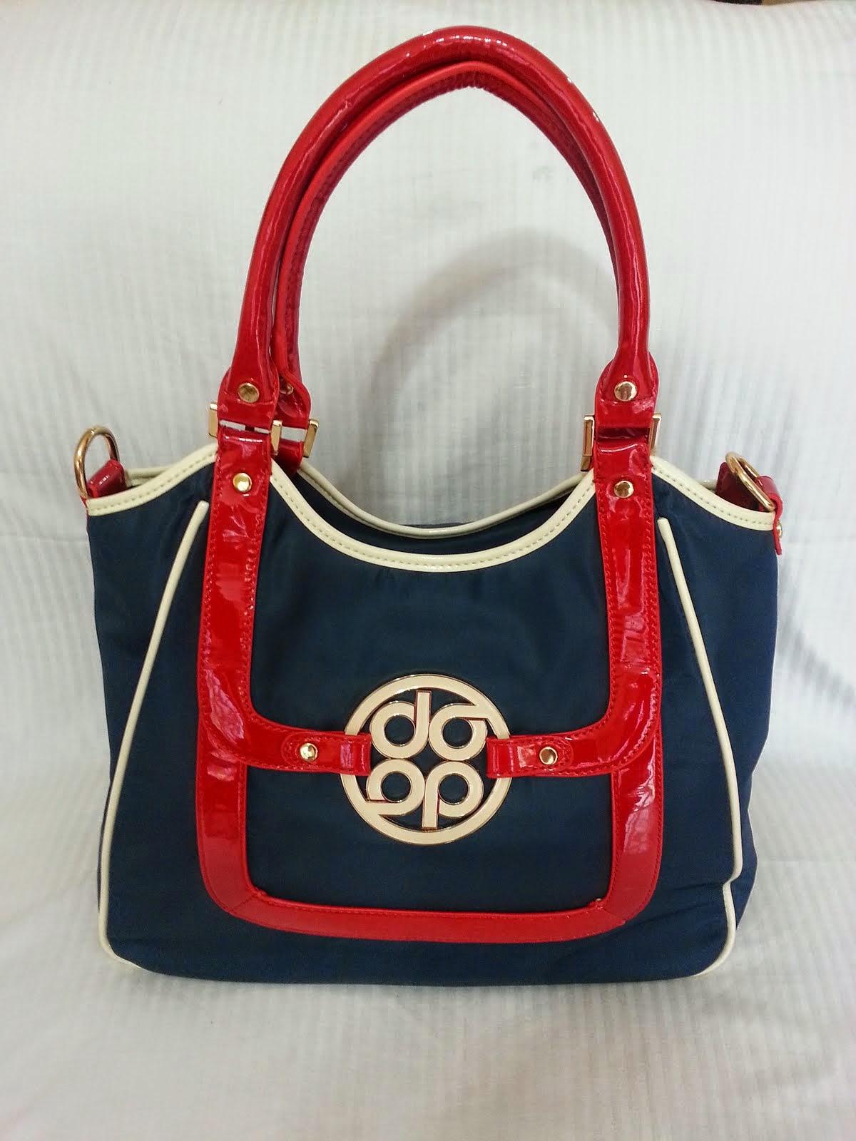 CARTERA DIVAS 24 NYLON BLUE /Red