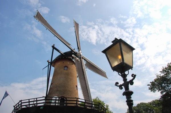De molen in Tholen...