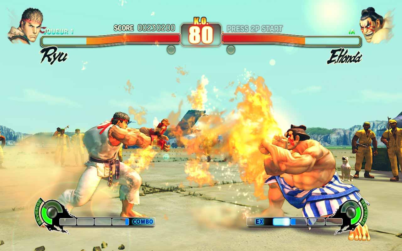 online games street fighter 4