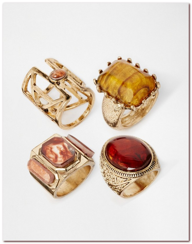 70's Gemstone Rings