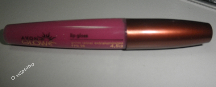 gloss clarinho para os lábio - Avon