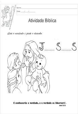 Versículo bíblico para ler e colorir8
