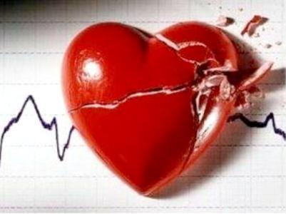 amor roto. amor corazon.