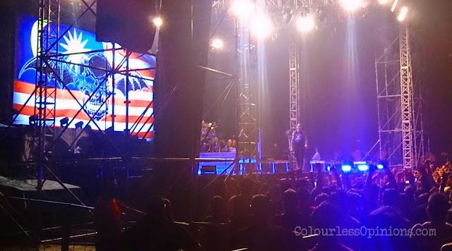 Avenged Sevenfold Deathbat Malaysia flag jalur gemilang
