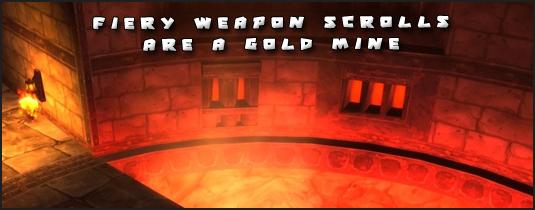 fiery weapon formula