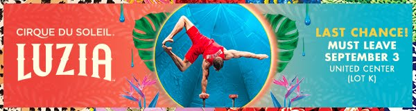 30% DISCOUNT:  LUZIA by Cirque du Soleil in Chicago