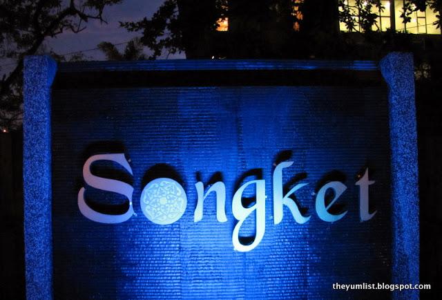 Songket Restaurant and Bar, Kuala Lumpur, Malaysia