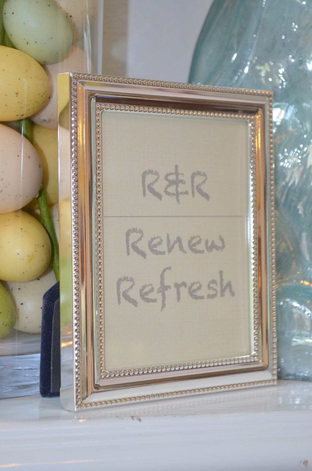 Decor]ography: R&R - Renew and Refresh for Spring