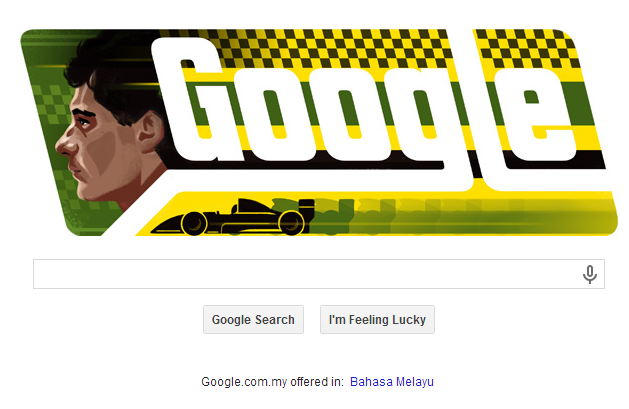 MR GOOGLE TODAY FORMULA 1