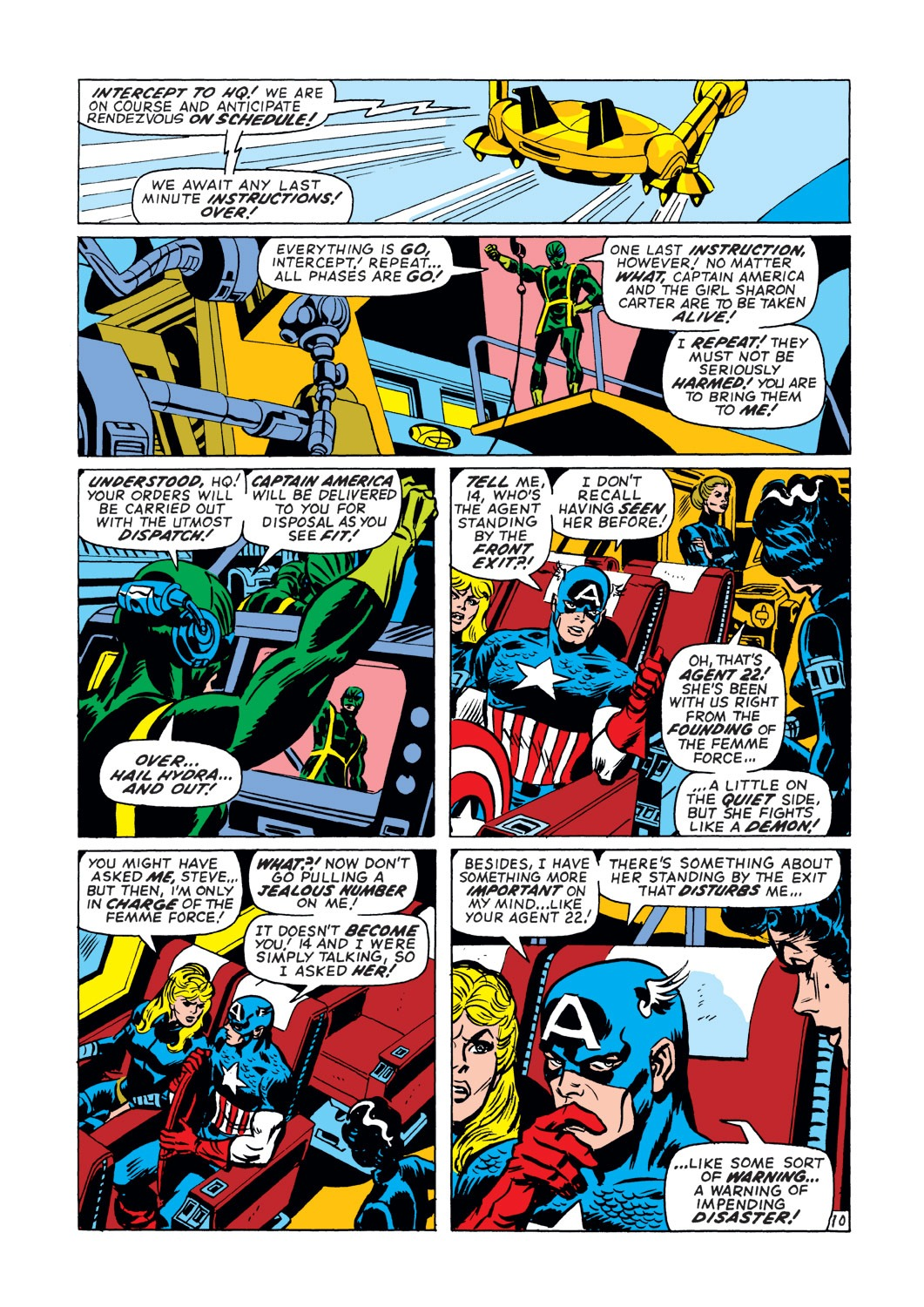 Captain America (1968) Issue #145 #59 - English 11