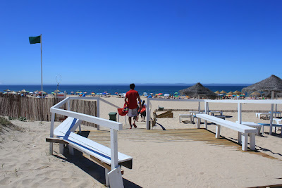 Praia da Morena, the dunes
