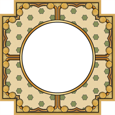 ArtbyJean - Frames: Polka Dot Patterns in Mixed Colors - SQUARE CUT ...