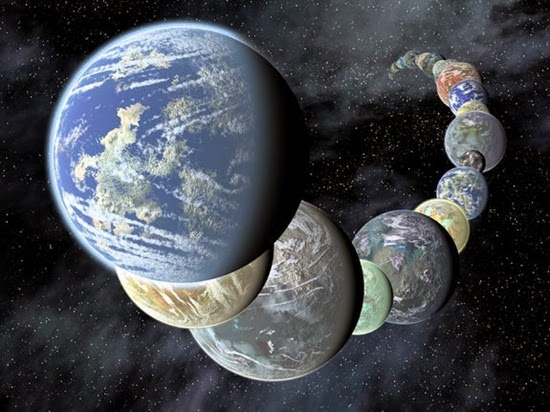 Inilah 5 Penemuan Planet Alien Sepanjang Tahun 2013