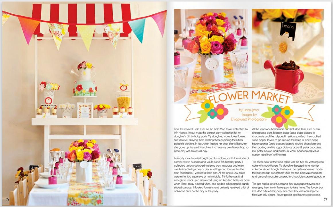 Just call me Martha: Imara\'s Florist birthday party