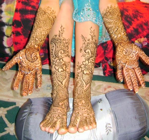 Mehndi Designs New Models : Indian mehndi designs for hand and feet latest