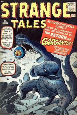 Strange Tales Gargantus returns