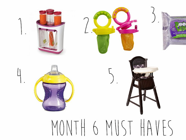Month 6 Must Haves for Baby