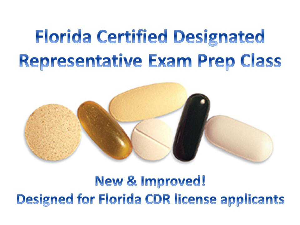 FL CDR Exam Prep Class