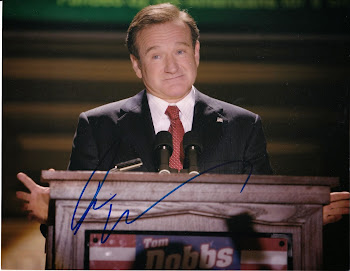 Autographed Movie & TV star photos: Legends! Lauren Bacall and Robin Williams