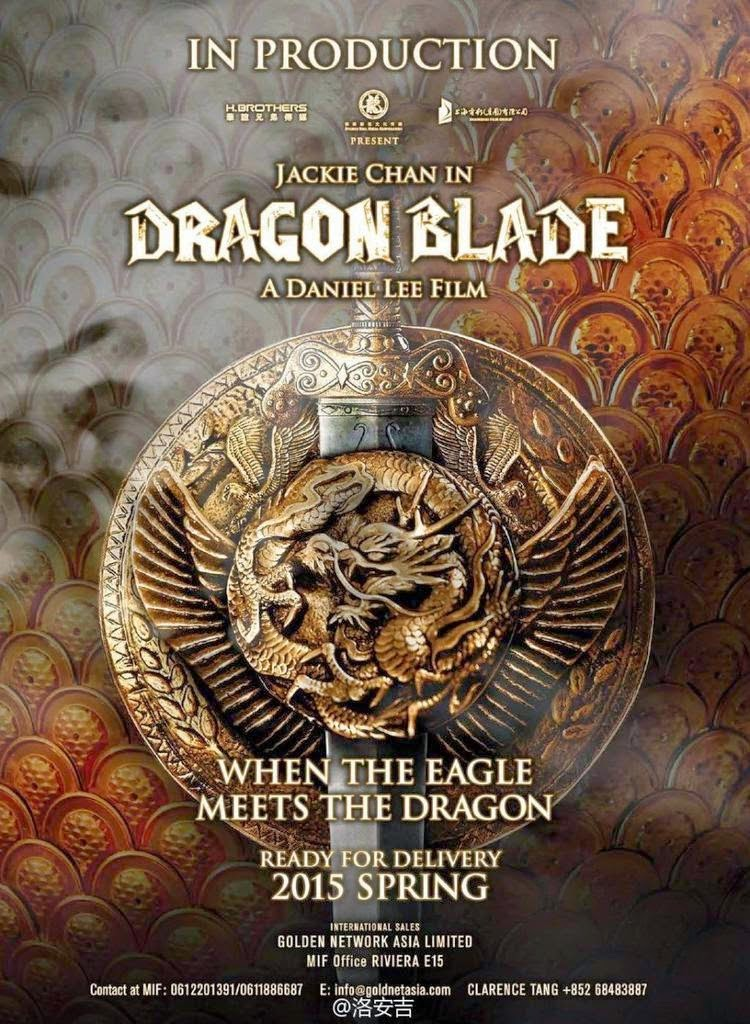 Film Dragon Blade 2015 Bioskop