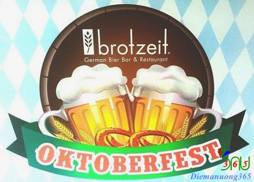 Khuyến mãi hấp dẫn cho lễ hội bia Đức tại Brotzeit