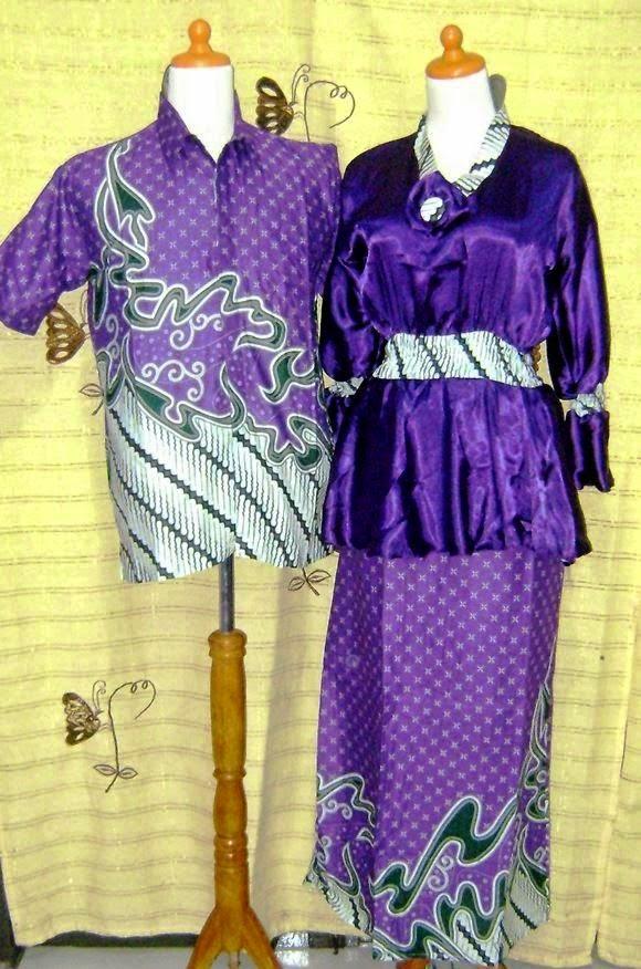 model baju batik pasangan terbaru