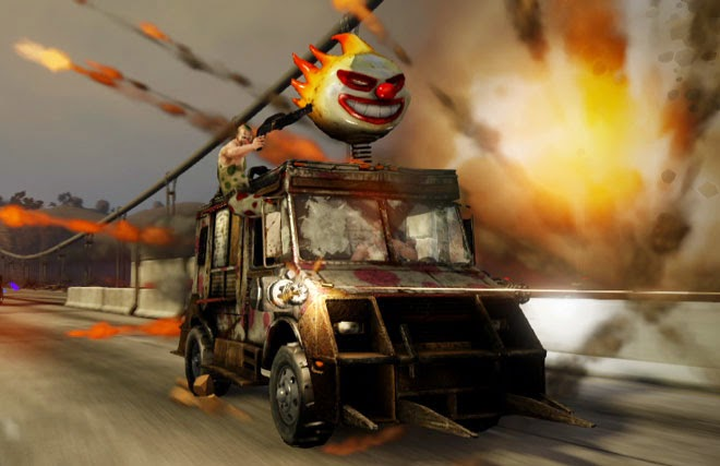 Twisted Metal Sweetooth's Vehicle