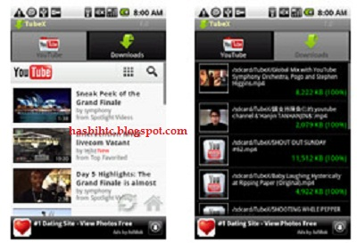 Aplikasi Android Download Video YouTube