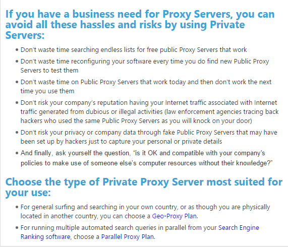 Best Private Proxies - Buy Elite, Dedicated Private Proxies - Blazing SEO