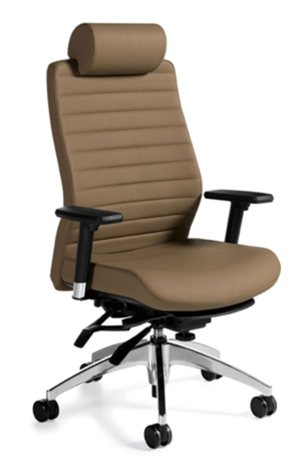 Global Aspen Leather Executive Chair