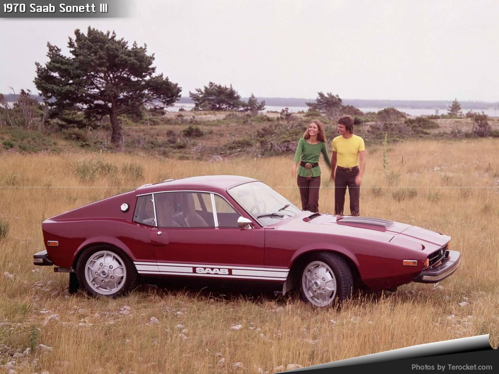 Hình ảnh xe ô tô Saab Sonett III 1970 & nội ngoại thất
