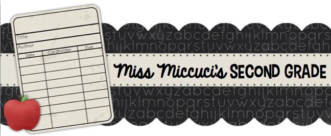 Miss Miccuci's Second Grade