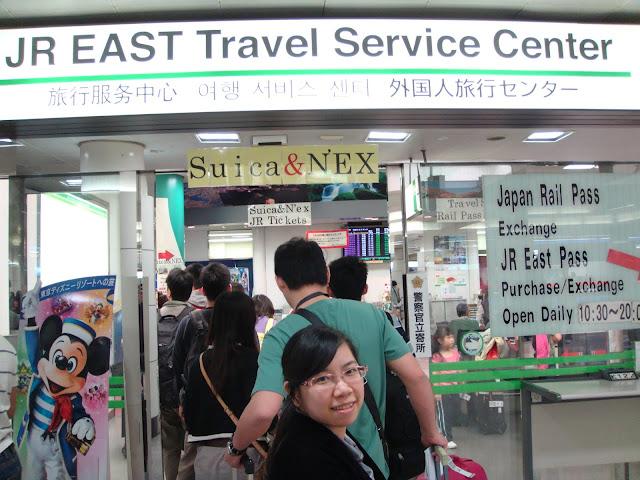 JR east travel center service
