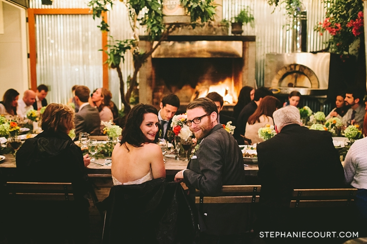 wedding at stable cafe san francisco