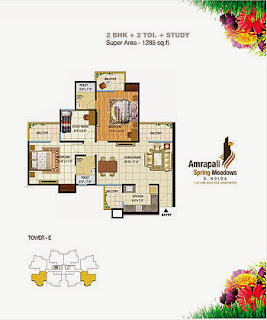 Amrapali Spring Meadows :: Floor Plan