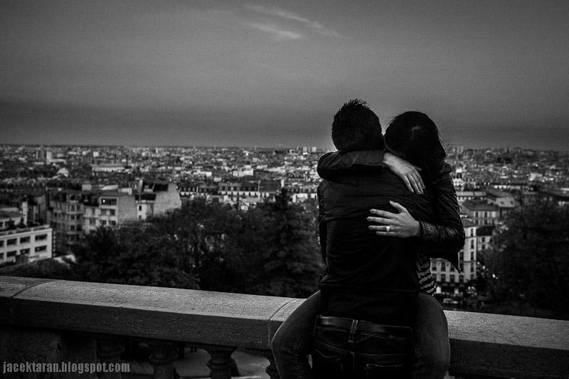 paris street photo, french kiss, francuski pocalunek, jacek taran, fotograf paryż