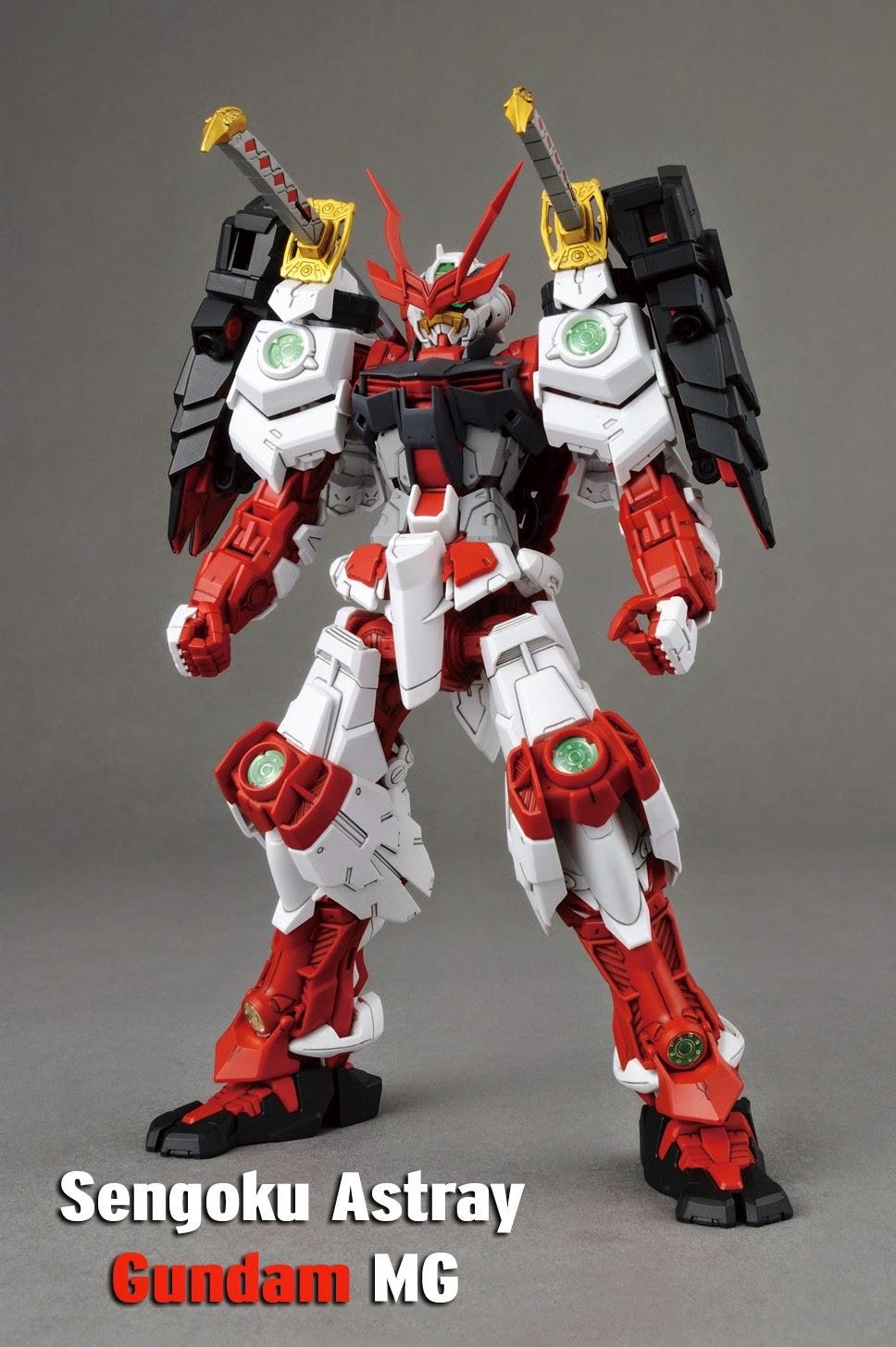 Sengoku Astray Gundam Master Grade gunpla recensione