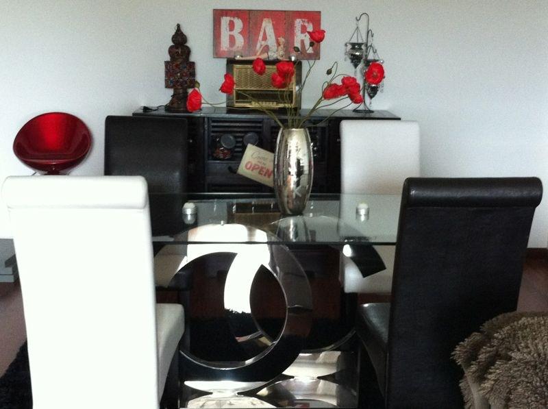 LA HUELLA FELINA: Decoración salón con toques vintages