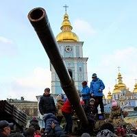 Выставка российского оружия на Михайловской площади