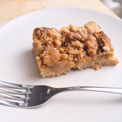 Hveiti og Smjör: Week04 Butterscotch Bread Pudding