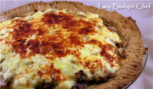 Lazy Budget Chef: Hamburger Pie Recipe
