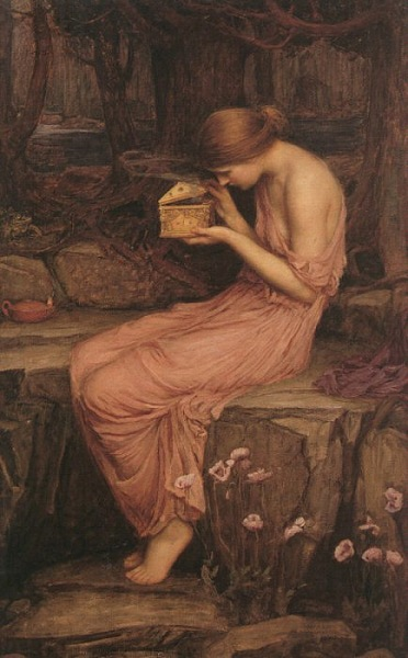 Ressam: J.William Waterhouse (d.1849 Roma, İtalya-ö.1917 Londra, İngiltere)