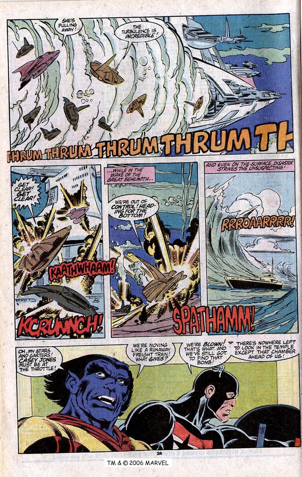 Captain America (1968) Issue #348c #280 - English 38