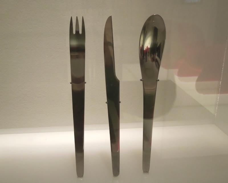 Original cutlery props 2001 Space Odyssey